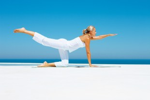 The practice of yoga to slow aging